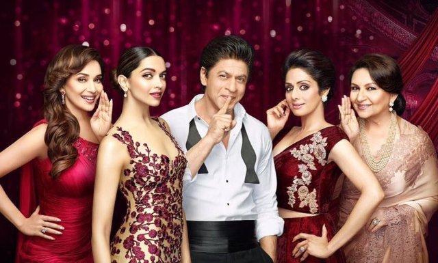 Lux Awards brings SRK, Deepika Padukone, Madhuri Dixit, Sridevi & Sharmila Tagore together