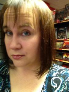 Author. Mother. Secret hetwoman. Sarah Cawkwell.