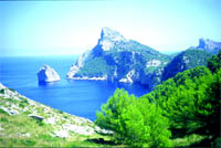 The Bolton News: MAJESTIC MAJORCA:  the view from cliffs above Formentor