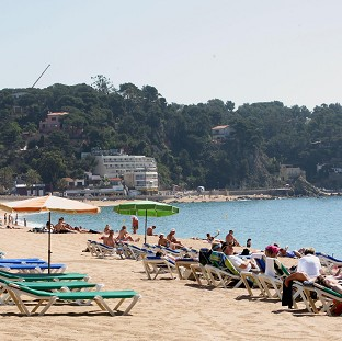 The Bolton News: Lloret de Mar on Spain's Costa Brava, where two British women died after a late-night swim
