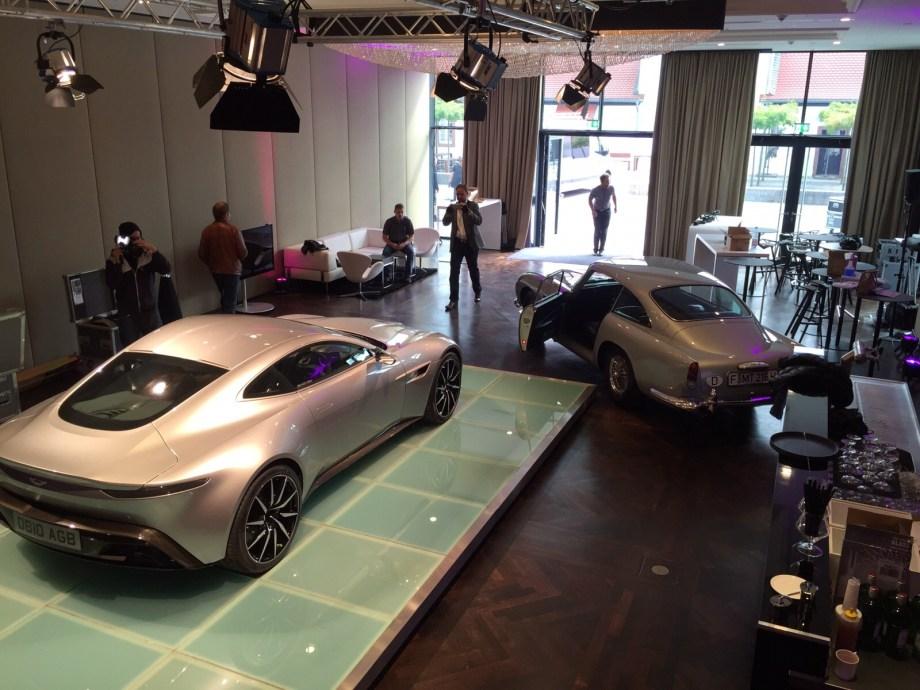 DB10, DB9 & DB5 join forces at IAA Motor Show in Frankfurt