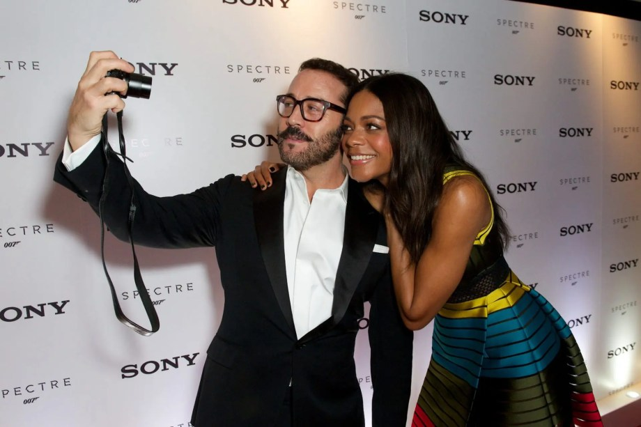 Celebrities test out Sony's technology 'Made for Bond'