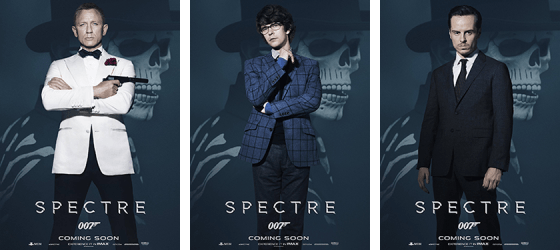 SPECTRE Character posters revealed