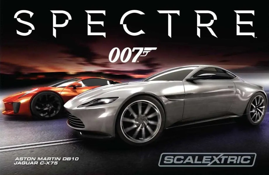 Scalextric introduces SPECTRE set