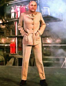 """Geschäftsmann des Bösen - Donald Pleasence als Blofeld in """"Man lebt nur Zweimal"""" (1967)"""