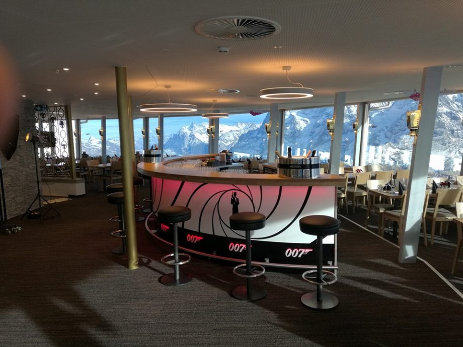 Schilthorn Piz Gloria restaurant shines in new splendour