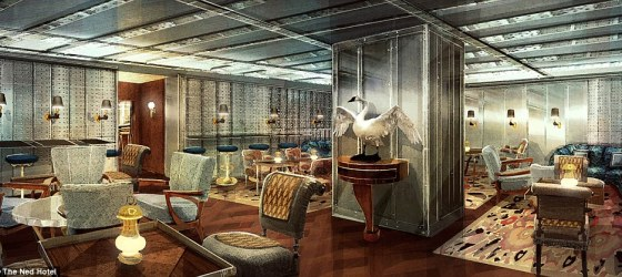"""Luxury London hotel to feature """"Goldfinger"""" bar"""