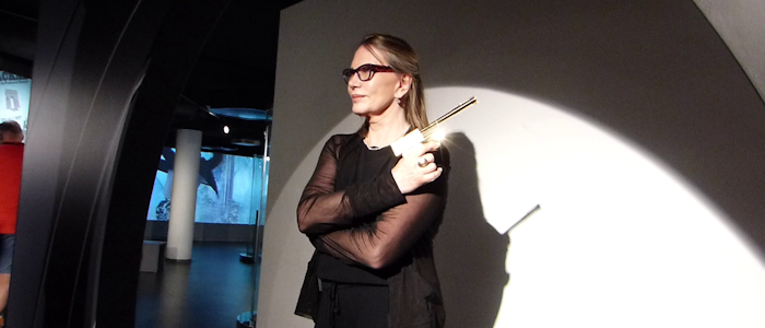 Bondfans celebrate 35 years of Octopussy with Maud Adams in Berlin