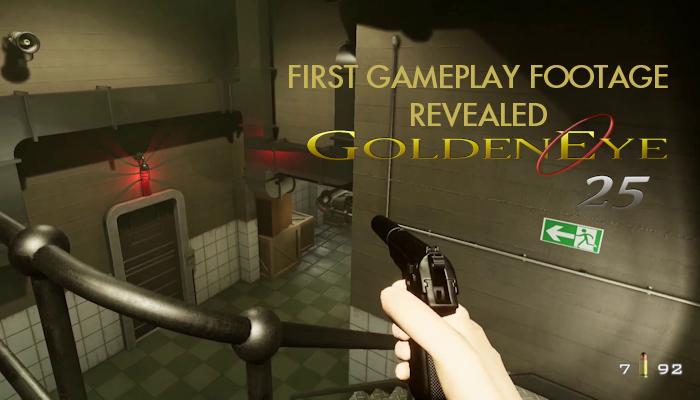 Early gameplay footage of 'GoldenEye 25' revealed