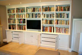 fitted media furniture