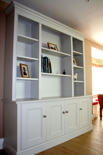 Bespoke Free Standing Bookcase in Thames Ditton