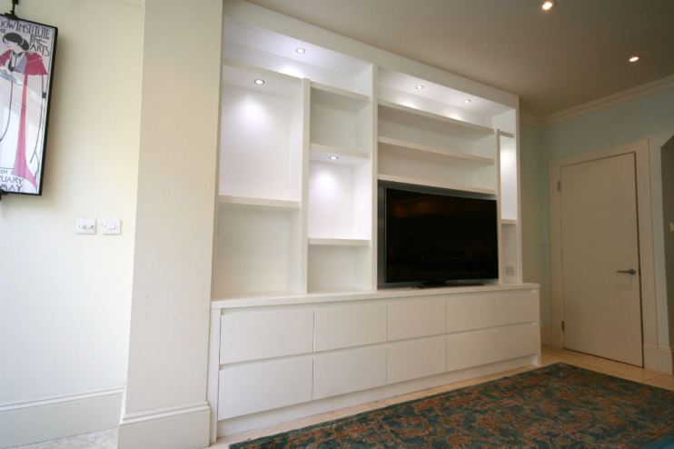 bespoke bookcases richmond