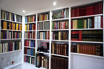 Fitted Library Bookshelving in London