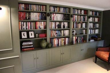 Library office shelving Thames Ditton