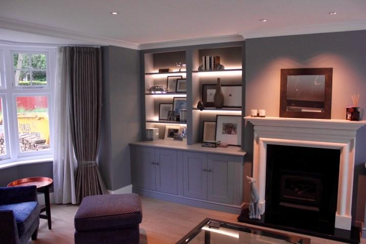 Luxury alcove unit South West London