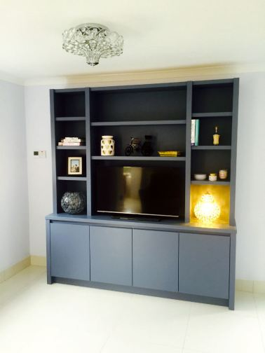 Media Furniture Contemporary in style