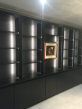 Media unit with LED Lighting