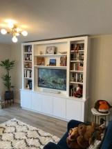 Freestanding Media Bookcase