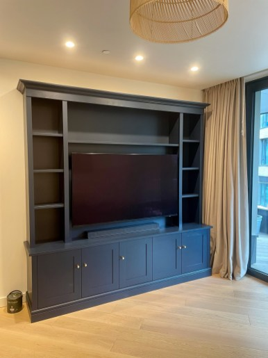 Shaker Style Media Bookcase