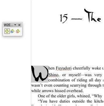 OpenOffice screenshot1