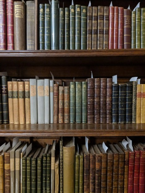 Chawton House Library Bookshelves