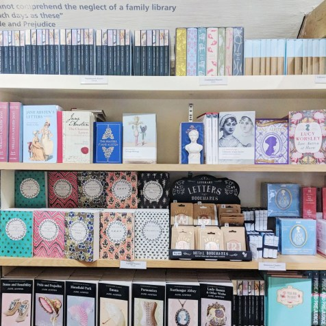 Jane Austen House Museum Shop