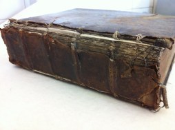 Loose leather spine
