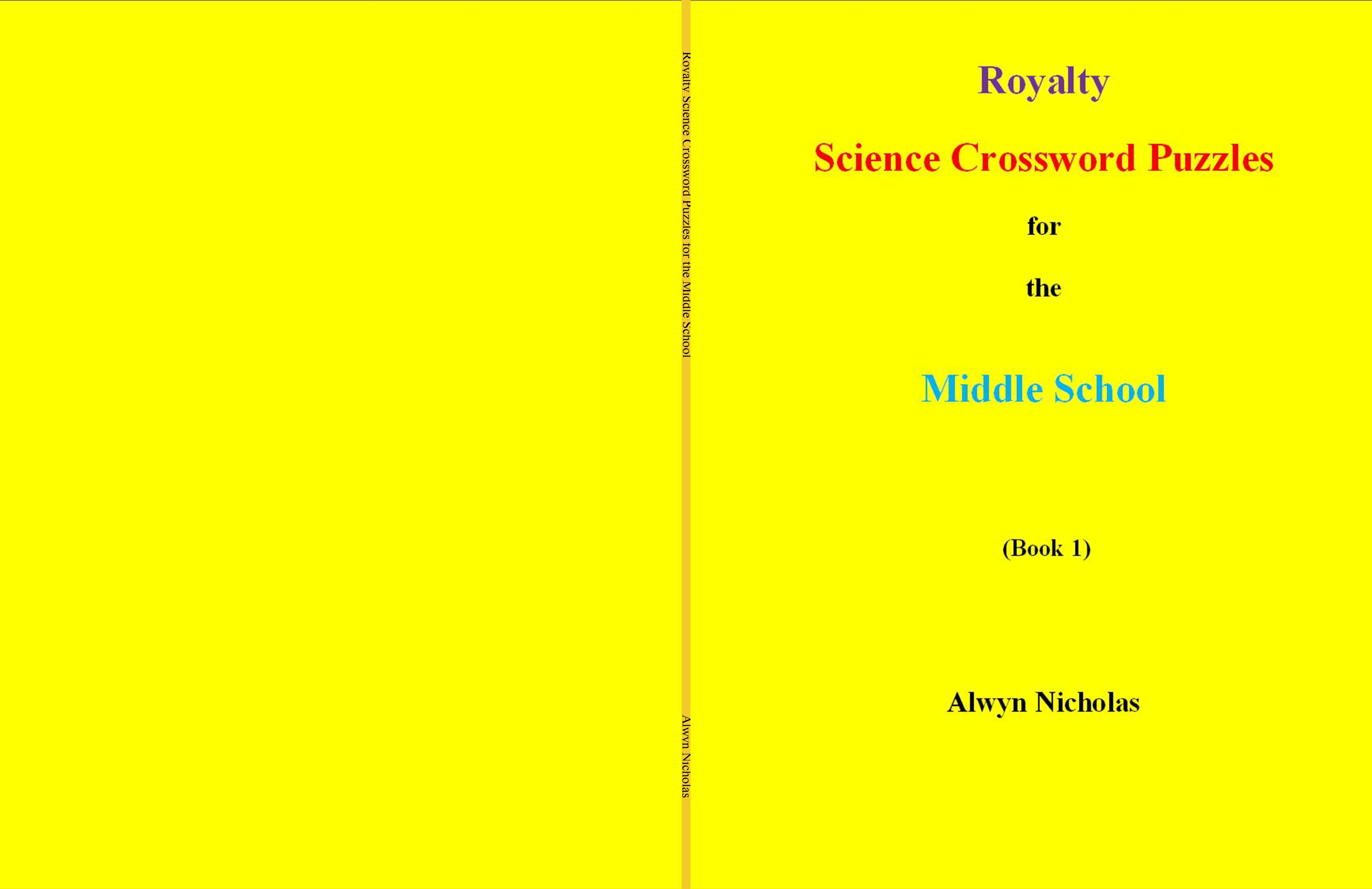 Royalty Science Crossword Puzzles For The Middle School By