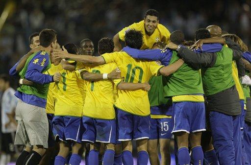 Argentina Brazil WCup Soccer