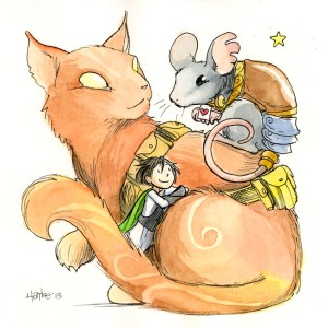 Zita, Pizzicato (Mouse) and Glissando