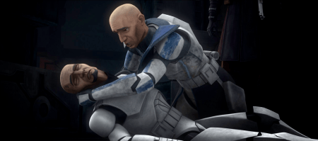 Fives and Rex Clone Wars