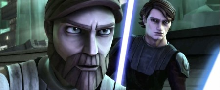 Anakin and Obi-Wan Clone Wars