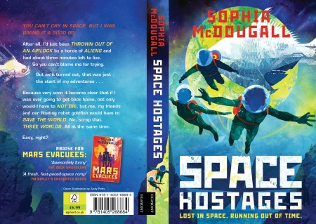 Space Hostages (full cover)