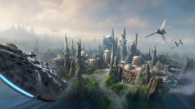 Star Wars Land @ Disney