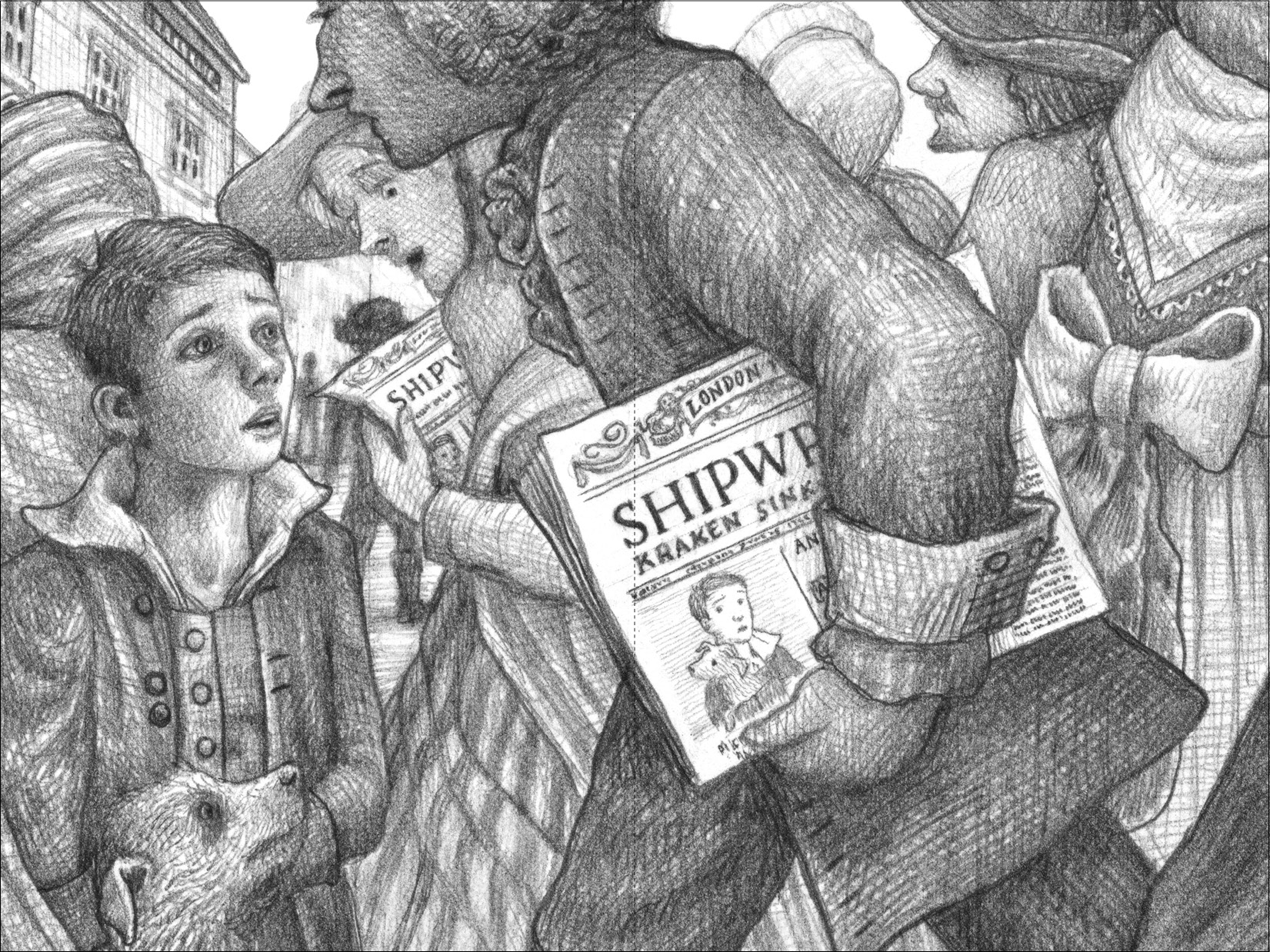 Image result for brian selznick drawings