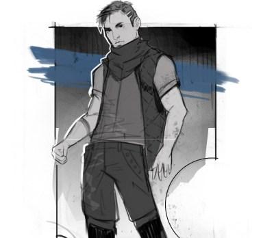Sky Ranger sketch by Kirbi Fagan