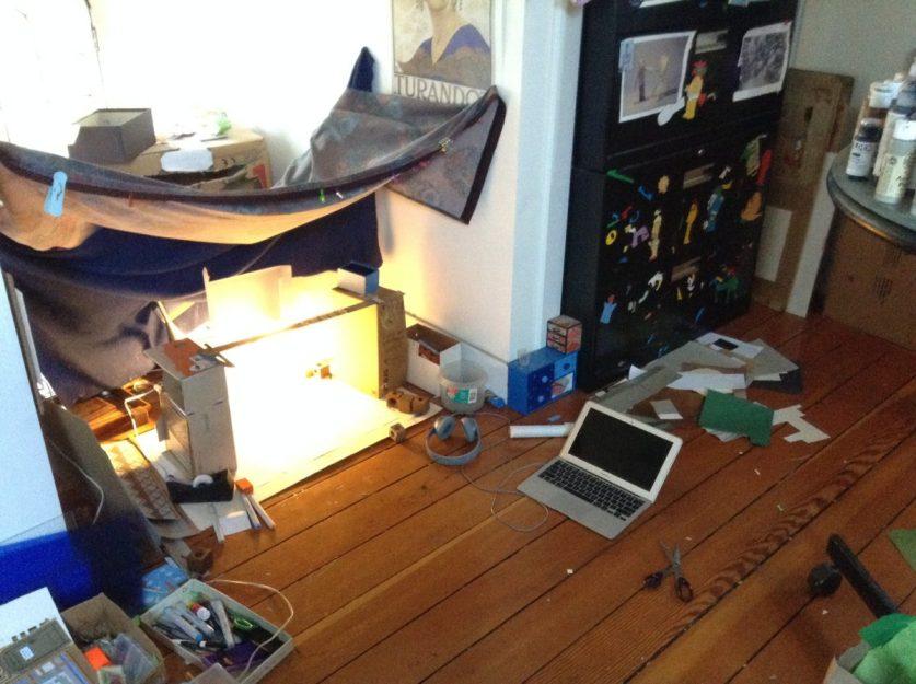 Workspace Before