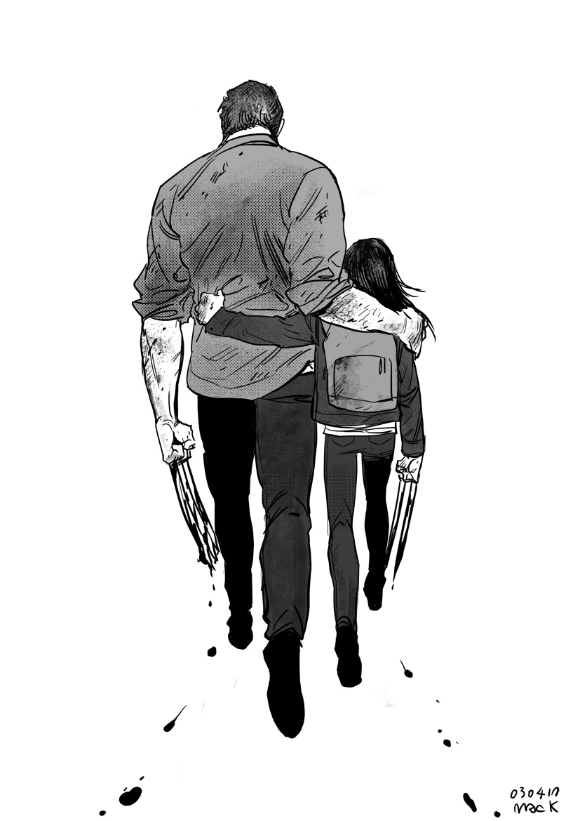 Logan and Laura by Mac 10