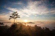 Sun rising over Danum Valley in Sabah. — Photo credit WWF-Malaysia/Lee Shan Kee