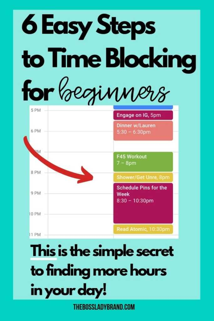 Time blocking is one of the best organization and time management strategies out there! You are guaranteed to be more productive and really get things done. Keep learning what is time blocking and how to use time blocking!