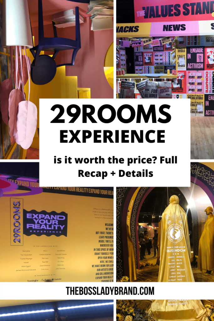 29Rooms Review and Experience Recap. 29Rooms Is put on by Refinery29. It is a cultural experience.