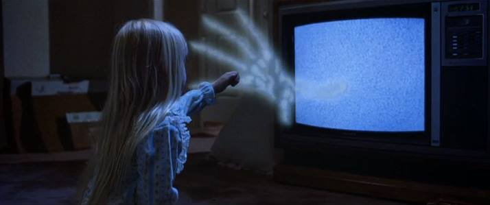 Image result for Poltergeist TV ghost hand