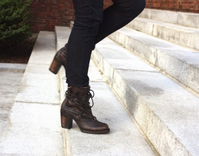cozy fall fashion in boston