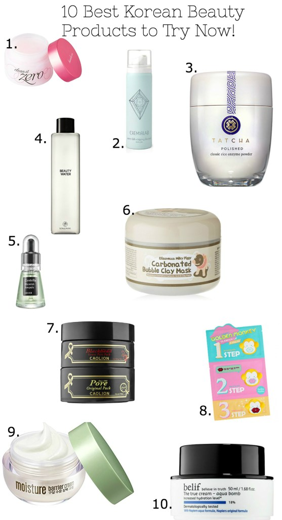 Top 10 Korean Beauty Must Haves And The Order To Use Them in!