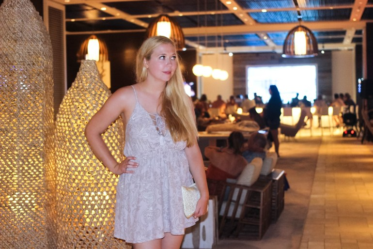 tie up tobi dress at aruba marriott and stellaris casino