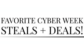 2017 cyber week steals and deals