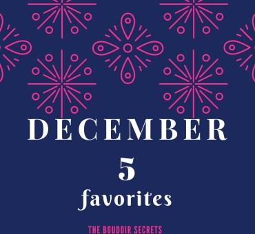 December 5 favorites
