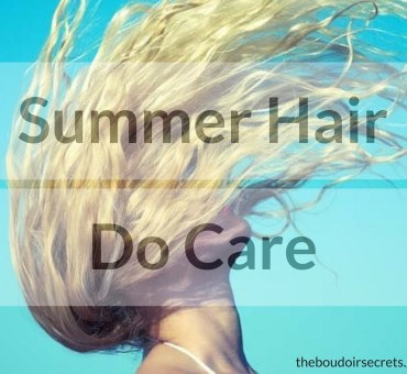 5 Tips for healthy hair in Summer