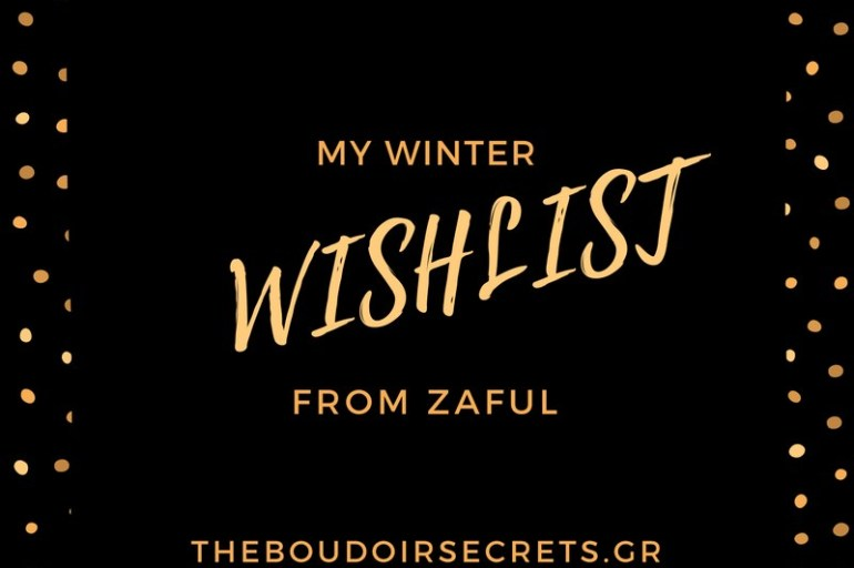 My Zaful Wishlist For This Winter
