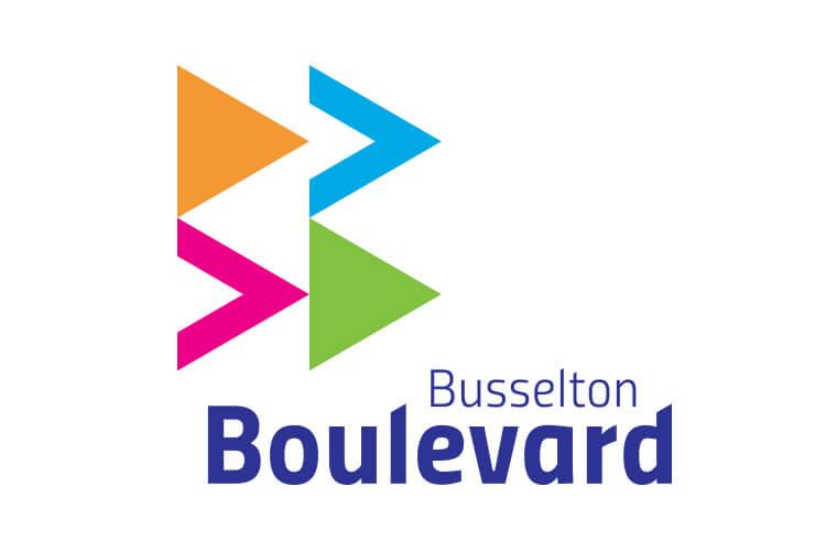 Busselton Boulevard After Logo
